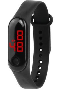 Relógio Digital Led Sport Preto
