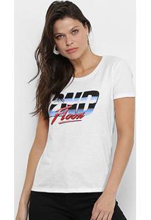 Camiseta Ellus 2Nd Floor 80S Feminina - Feminino