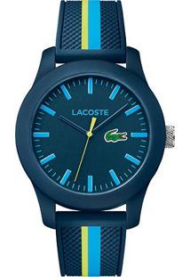 02fc4c07944 Relógio Lacoste Masculino Borracha - 2010930