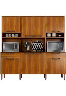Cozinha Compacta Kit Ímola - Nogal