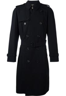 Burberry Trench Coat 'Westminster' Médio - Preto