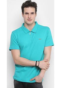 c4707751e Camisa Polo Colcci Básica Zíper Masculina - Masculino