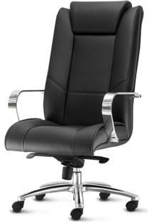 Cadeira New Onix Presidente Base Aluminio Arcada - 54163 Sun House