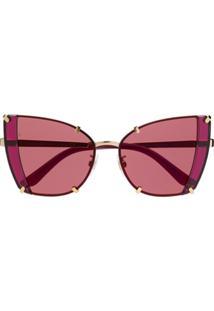 Óculos De Sol Dolce E Gabanna Dourado feminino   Shoes4you f487db664d