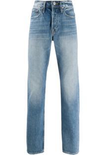 Frame Calça Jeans Slim Cintura Média L'Homme - Azul