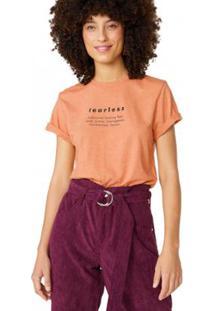 Camiseta Amaro Fearless - Feminino