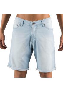 Bermuda Jeans Mcd New Slim Pure - Azul - Masculino - Dafiti