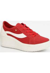 Tênis Feminino Sneaker Plataforma Listras Mississipi