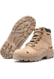 Bota Jhon Boots Work Cater Adventure Segurança Couro Palmilha Confort Gel