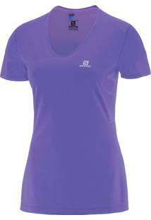 Camiseta Salomon Comet Ss Tee W Violeta