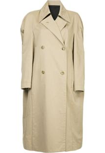 Ll By Litkovskaya Trench Coat 'Catherine' - Marrom