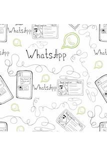 Papel De Parede Adesivo Whatsapp