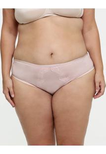 Calcinha Feminina Biquíni Renda Plus Size Delrio