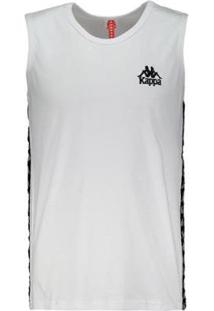 Regata Kappa Authentic Due Due - Masculino-Branco