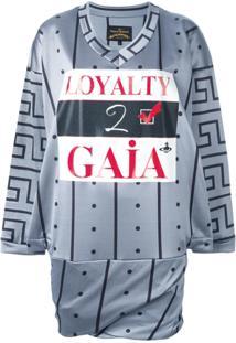 Vivienne Westwood Anglomania Vestido 'Loyalty 2 Gaia' - Azul