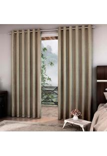 Cortina Blackout Barroco 7034 250X400 Cm Ouro