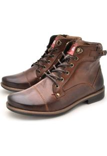 Bota Laroche Montana Whisky/Chocolate
