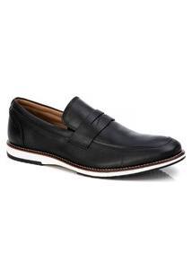 Sapato Social Masculino Loafer Preto