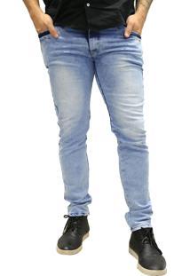 Calça Jeans Elite Lux Skinny Azul Claro