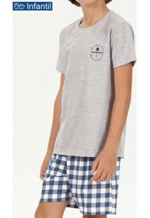 Pijama Infantil Menino Curto Cor Com Amor 66400 Me