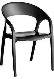 Cadeira Glass Plus Preto Kappesberg Uz4004