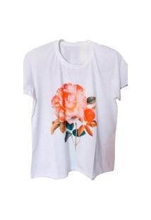 Camiseta Feminina Florescer