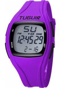Relógio Tuguir Digital Tg1602 - Roxo