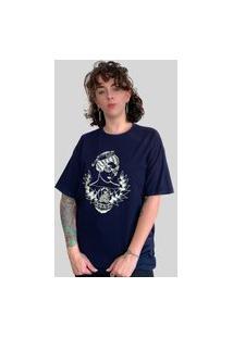 Camiseta Bleed Horizon Azul Marinho