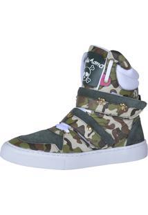 Sneaker Fitness Cheia De Marra 1001 Camuflado - Kanui