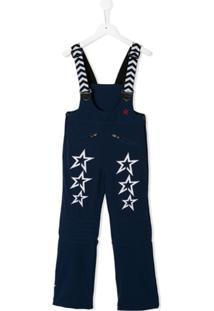 Perfect Moment Kids Jardineira 'Star' - Azul