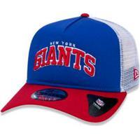 Boné 940 New York Giants Nfl Aba Curva Snapback New Era - Masculino-Azul  Royal 7306b407593