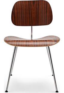 Cadeira Dcm Aço E Lâmina De Madeira Artesian Clássicos De Design By Charles E Ray Eames