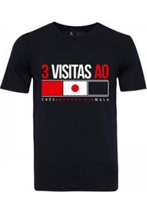 Camiseta Zé Carretilha São Paulo Japão Masculina - Masculino