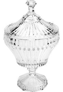 Bomboniere Renaissance- Cristal- 21Xã˜11,5Cm- Lyolyor