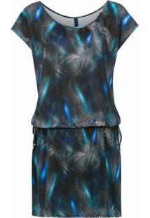 Lygia & Nanny Vestido Shiva Estampado - Azul