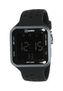 Relógio Digital X Games Xgppd091 - Feminino - Preto/Cinza