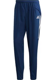 Calça Adidas Con20 Pre Azul