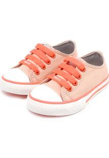41b22b51f1 Tênis Para Meninas Bico Redondo Coral infantil