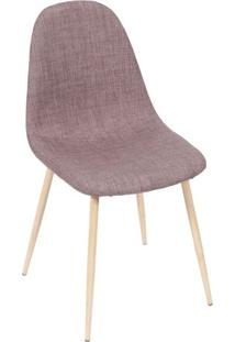 Cadeira Charla- Marrom- 85,5X45X40Cm- Or Designor Design