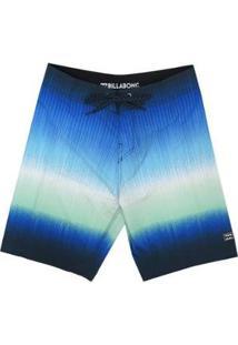 Bermuda Água Billabong Fluid Over Masculina - Masculino-Azul