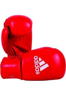 7fae28652 Luva De Boxe Adidas Rookie Vermelho Branco