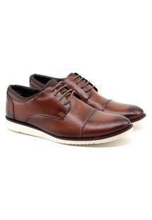 Sapato Oxford Masculino Talkflex Caramelo