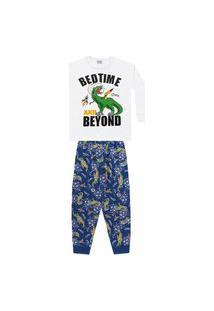 Pijama Longo Brilha No Escuro - Fkn Sleep We