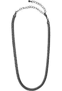 Colar Chocker Hotbaby Ródio Negro