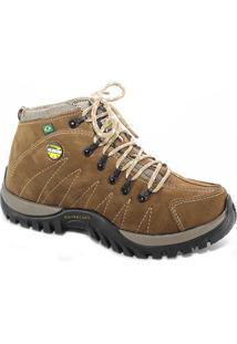 Bota Adventure Tchwm Shoes Couro Confortavel Moderno Marrom