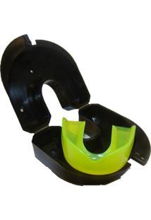 Protetor Bucal Gracie Sports Simples Amarelo Fluor C/ Estojo