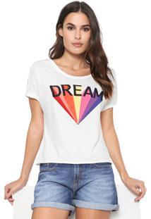 Camiseta Dzarm Dream Off-White