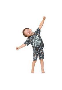 Pijama Infantil Menino Kyly Mescla