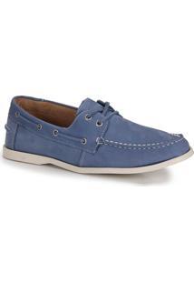 Sapato Dockside Masculino Metropolitan Mr Sider - Azul