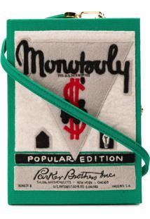 Olympia Le-Tan Bolsa Clutch 'Monopoly Popular Edition' - Verde